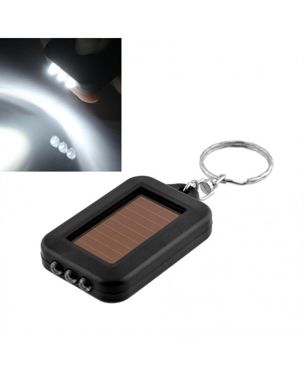 Raktų pakabukas su žibintuvėliu pakraunamu saulės baterija