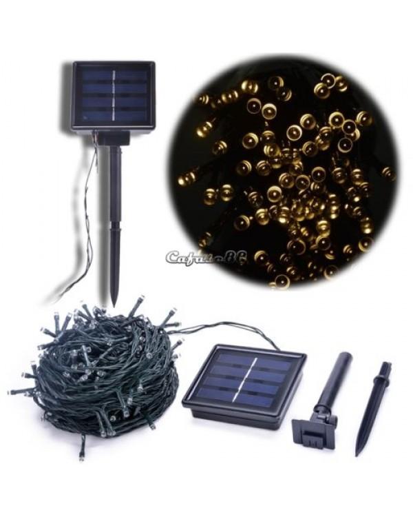 50 LED 4.5M kalėdinės lemputės, pakraunamos saulės baterija