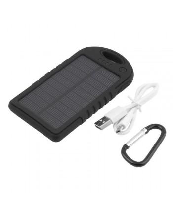 5000mAh vandeniui atspari saulės baterija