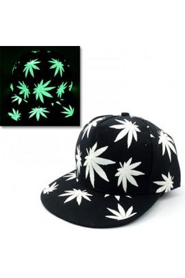 """Tamsoje šviečianti kepurė """"Leaf"""""""