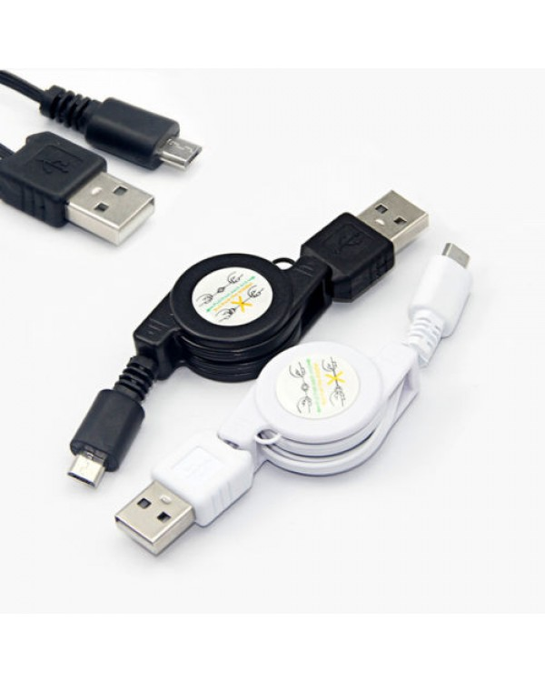 Micro USB ir USB 2.0 jungčių kabelis