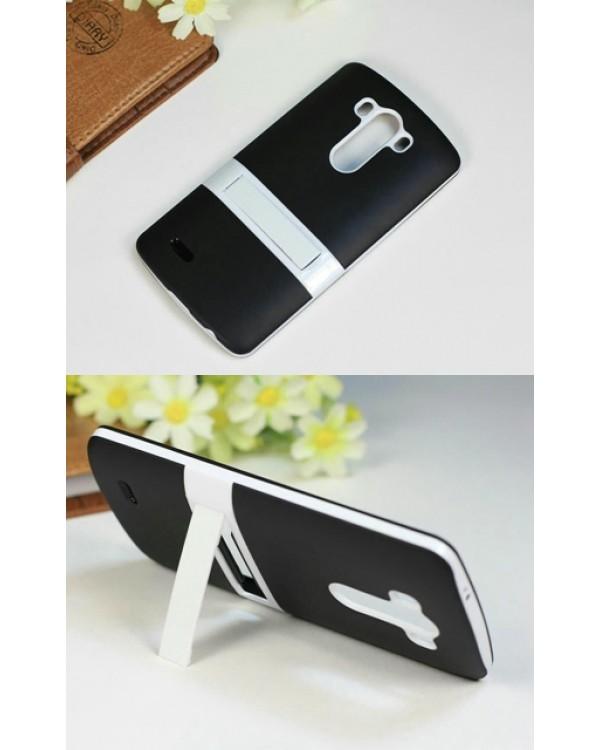 LG G2, G3 silikoninis dėklas su stovu