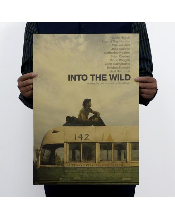 "Plakatas ant sienos ""Man vs. Wild"""