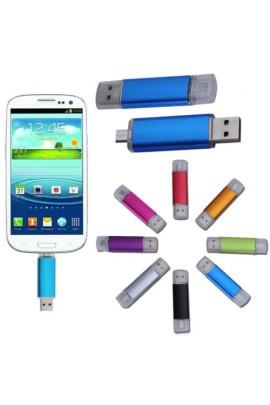 8-16Gb dvipusis USB raktas