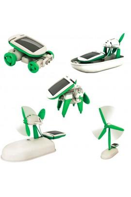 Edukacinis žaislas su saulės baterija 6 in 1
