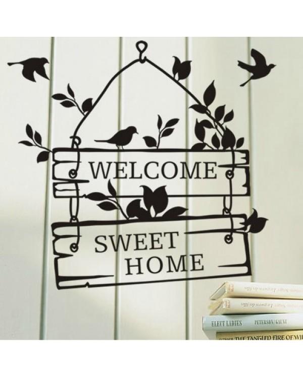 "Interjero lipdukas ""Sweet home"""