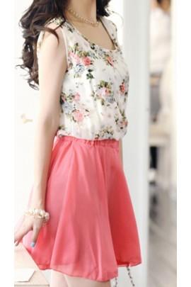 "Suknelė ""Floral Pink"""