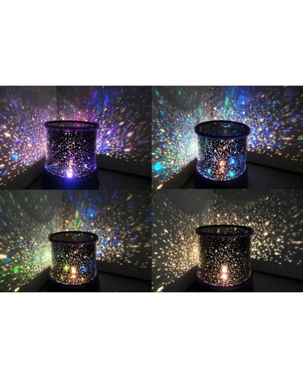 Lempa  šviečianti žvaigždėmis