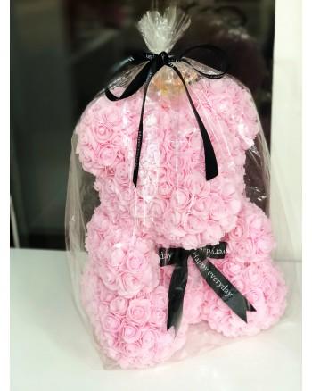 Kvepiantis meškiukas iš rožių Rose Bear, rožinis