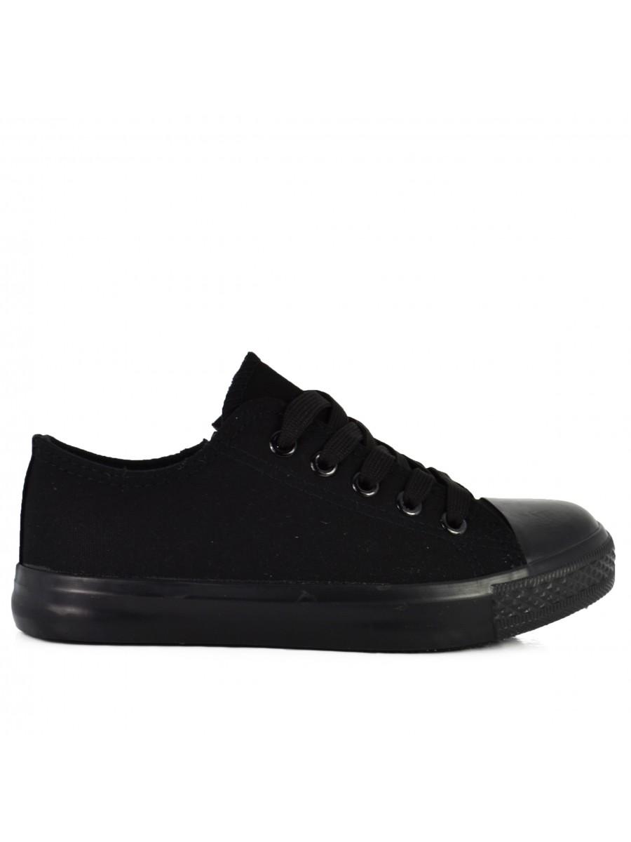 """Vaikiški batai """"Canvas Black"""""""