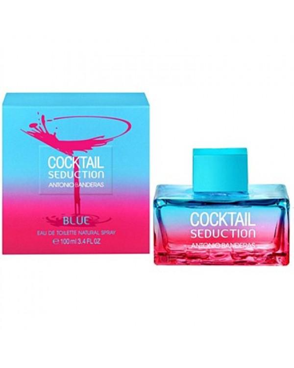 Tualetinis vanduo Antonio Banderas Cocktail Seduction Blue EDT moterims