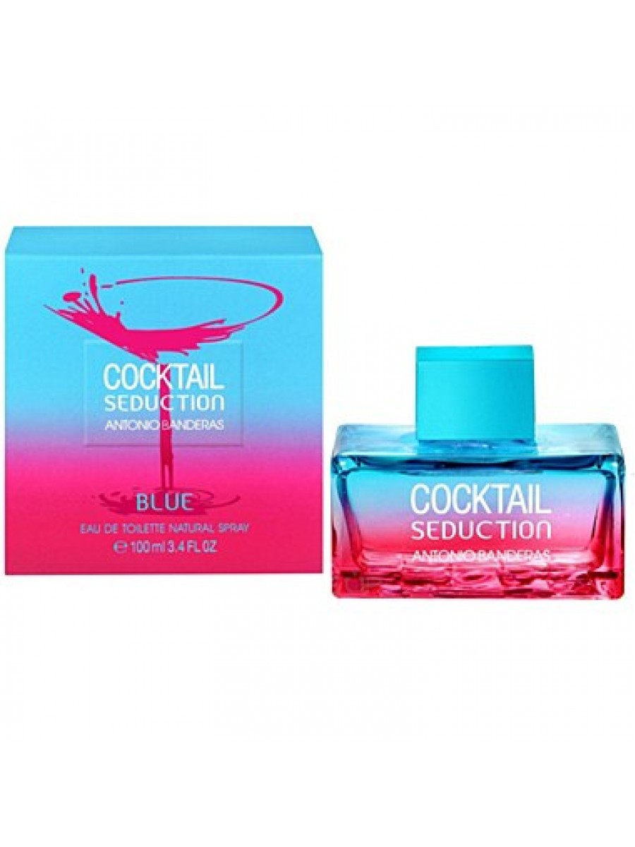 Tualetinis vanduo Antonio Banderas Cocktail Seduction Blue EDT moterims