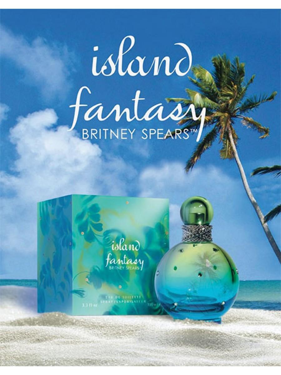 Tualetinis vanduo Britney Spears Island Fantasy EDT moterims