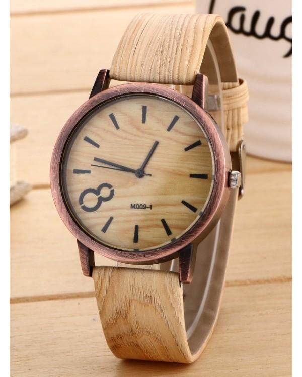 """Laikrodis """"Wooden""""."""