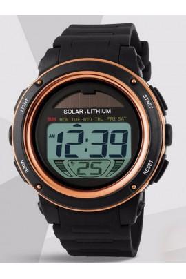Sportinis laikrodis su saulės baterija