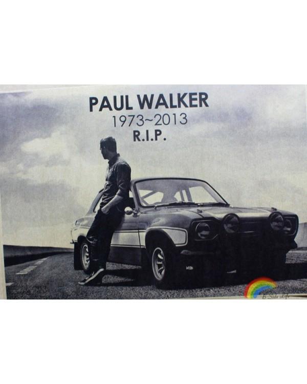 """Plakatas ant sienos """"Paul Walker"""""""