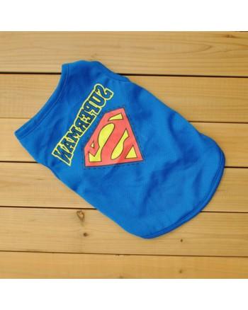 """Marškinėliai šuniukams """"superman"""""""