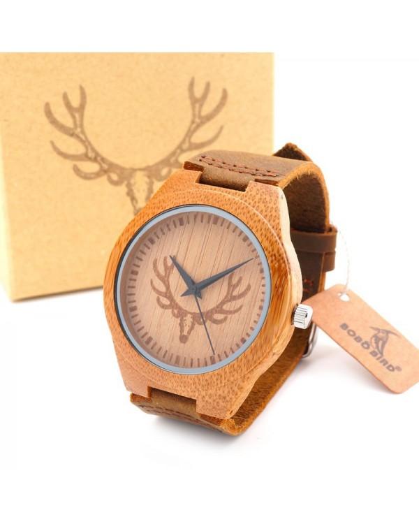 """Medinis laikrodis """"Deer"""""""