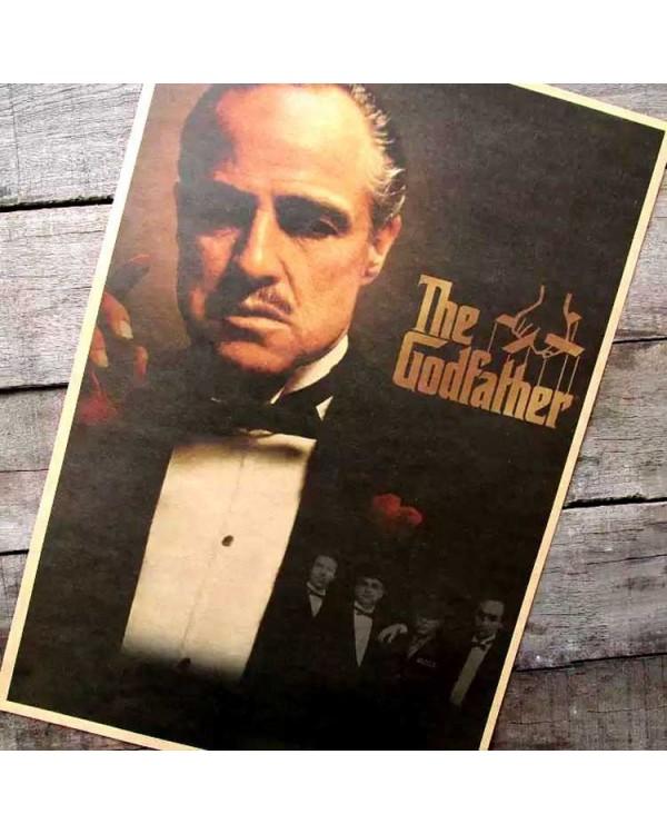 """Plakatas ant sienos """"Godfather"""""""