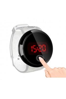 Led laikrodis liečiamu ekranu