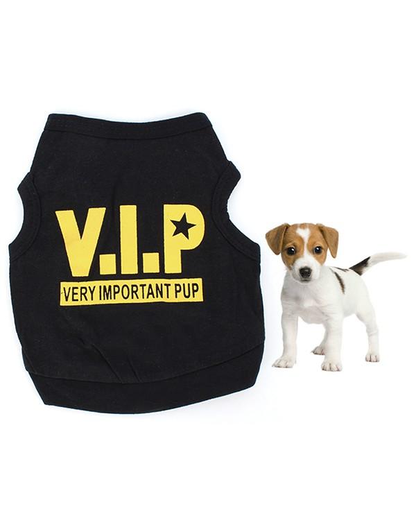 """Marškinėliai šuniukams """"V.I.P"""""""