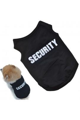 """Marškinėliai šuniukams """"SECURITY"""""""
