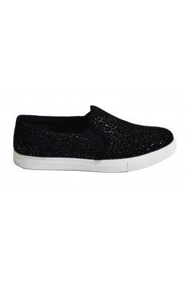 "Slip On avalynė ""Black Silver"""