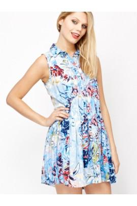 "Suknelė ""Floral Sketch"""