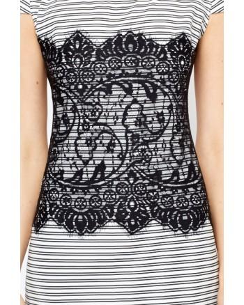 """Suknelė """"Stripe Lace"""""""