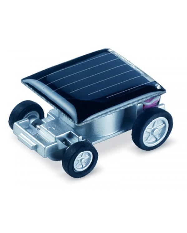 Saulės energija varoma mašinėlė