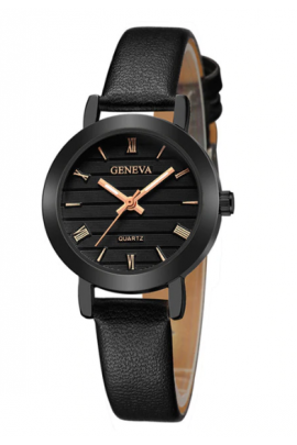 "Laikrodis ""Geneva all black"""