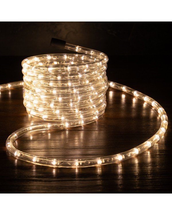 "Led gelsvai balta girlianda ""Rope"" 10m"