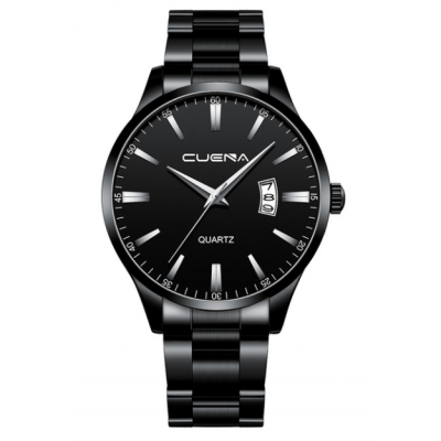 "Laikrodis ""CUENA BLACK LUXURY"""