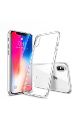 Apple iphone xr silikoninis permatomas dėklas