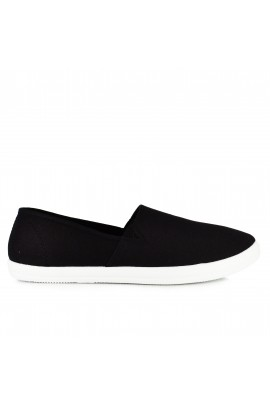 "Vyriška Slip On avalynė ""Simple Black"""