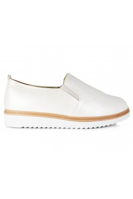 "Slip On avalynė ""Clear Champagne"""