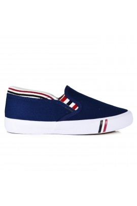 "Slip On avalynė ""Blue & Stripes"""