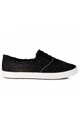 "Slip On avalynė ""Black Denim"""