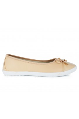 "Balerinos ""Small Ribbon Beige"""