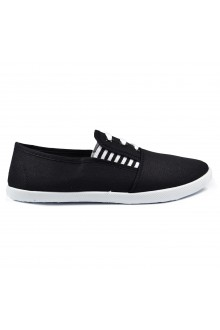 "Slip On avalynė ""Three Stripes Black"""