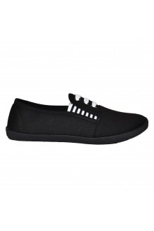 "Slip On avalynė ""Three Stripes All Black"""