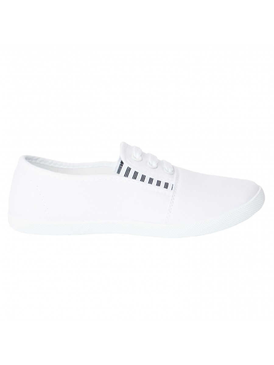 "Slip On avalynė ""Three Stripes White"""